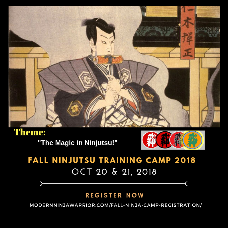 Ninjutsu training camp